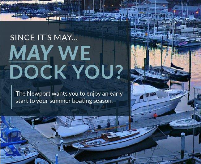 Since its May... May We Dock You?