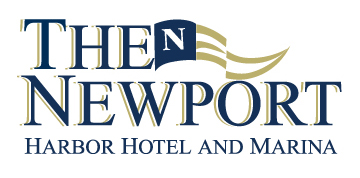 The Newport Harbor Hotel and Marina Logo for Print